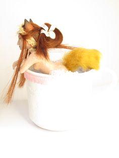 Foxgirl in a cup