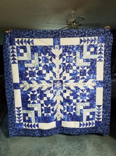 Two Color Quilts, Blue Quilts, Star Quilts, Christmas Quilt Patterns, Quilt Block Patterns, Quilt Blocks, Christmas Quilting, Star Blocks, Christmas Tag