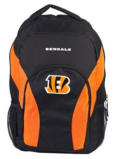e229e96863cb Cincinnati Bengals Draft Day Black Backpack Day Backpacks