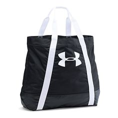 Under Armour Women's Favorite Logo Tote, Black/White, One Size -- undefined