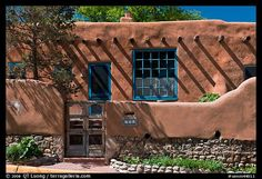 Santa Fe... Adobe... cool interiors, shaded courtyards, private, and beautiful...