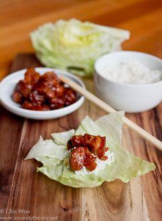 Chilli & garlic braised pork belly wraps (a twist on a Korean favourite)