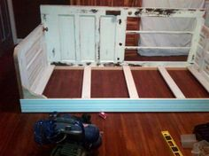 Old door to Daybed
