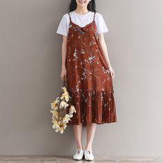 Mori Girl Style Vestidos 2017 New Spring and Summer Dress Women Spaghetti Strap V-neck Chiffon Dresses Long Floral Clothing