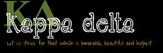 Kappa Delta Girls