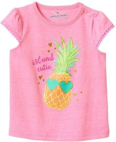 Jumping beans ® graphic tee - baby girl