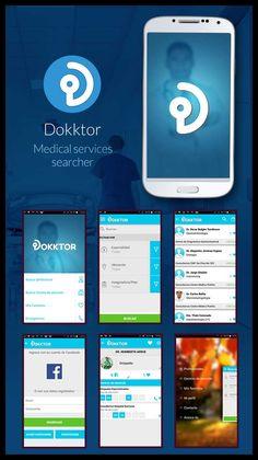 DOKKTOR. Medical services searcher // Design // 2015