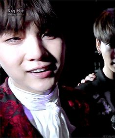 Aww, don't cry Yoongi~❤️ You deserve the world, you're so amazing~❤️