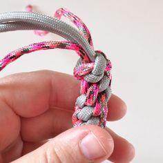 Round Lanyard Stitch Rope Dog Toy Tutorial - Dream a Little Bigger