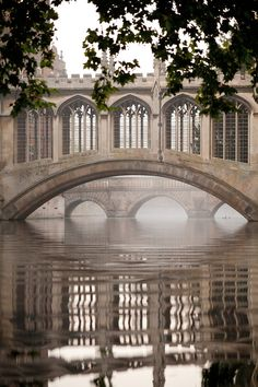Bridge of Sighs, Cambridge University, UK