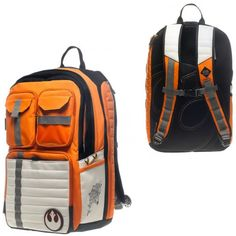 Star Wars Rebel Alliance Icon Backpack, $56.21 from Amazon.com. Carry your stuff like a true rebel.