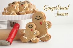 Gingerbread Scones @