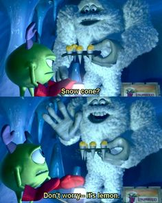 Monsters Inc. <3