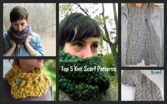 5 Must-Have Knit Scarf Patterns