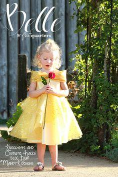 Phat Quarters Blog: Belle Costume Hack with Mandy K Designs