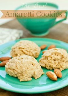 The BEST amaretti cookie recipe you will try... so EASY and gluten free!