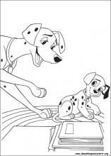 101 Dalmatians Coloring Page from coloring-book.info | Coloring ...