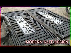 Iron Main Gate Design, Gate Wall Design, Grill Gate Design, House Main Gates Design, House Window Design, Main Entrance Door Design, Steel Gate Design, Front Gate Design, Diy Gate
