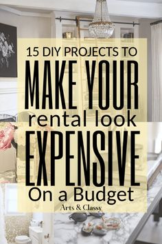 My 5 Favorite DIY Renter Friendly Tools For Home Decor on a Budget | Arts and Classy