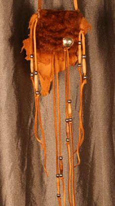 Native American Medicine Bags | Where The Buffalo Roam Native American Style Medicine Bag