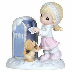 Precious Moments Figurine - DEAR SANTA - 111010 - NIB - NEW IN BOX