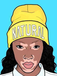 Márcia Lima Illustrations ✖ by Márcia Lima Black Women Art, Black Art, Trill Art, Natural Hair Art, Swag, Afro Art, Dope Art, Cartoon Wallpaper, Cool Cartoons