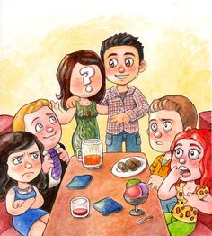 How I met your mother by Gigei.deviantart.com on @deviantART