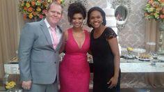 Fiz o casamento da Cristine e Patrick e foram padrinhos do casamento de Erica e Jero