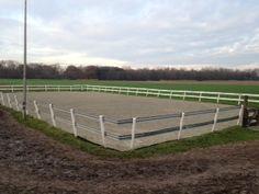 Paardenbakzand & Polyvlokken Groen voor Pensionstal te Noord-Brabant