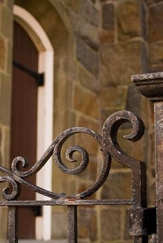 wrought iron cool