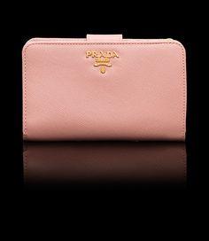 Prada Orchid Pink wallet-demurebyj.com