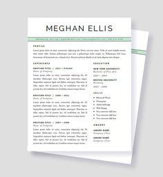 44 best resume templates images on pinterest design resume resume