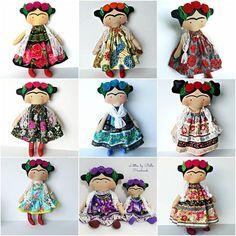 Frida Kahlo doll Tilda toy children Frida Kahlo decor doll to Worry Dolls, Mexican Crafts, Mexican Folk Art, Diego Rivera Art, Tilda Toy, Frida Art, Mexican Christmas, Tiny Dolls, Child Doll