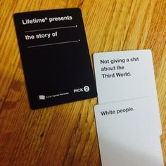 :( :( | 18 Cards Against Humanity Combos That Will Make You Think Twice