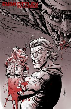 Check out Ryan Ottley's take on my boy Tradd Moore's book Luther Strode. Tradd tears this book a new one. You gotta check it out.. and be sure to check out ...