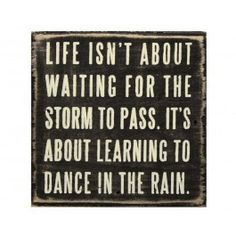 As someone who was never allowed to play in the rain as a kid, you will often find me jumping in puddles as an adult!