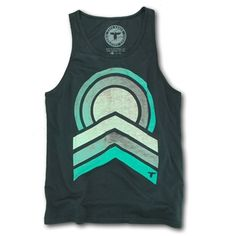 Huge fan of this #tank! Just in time for the summer. The combination of colors is fantastic. Custom tag too!