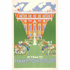 By Tram To Hampton Court - Dorothy Paton (1927)