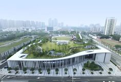 Image 7 of 43 from gallery of Victims of Nanjing Massacre Memorial Hall / Architectural Design & Research Institute of South China University of Technology. Photograph by Zhan Changheng - Ma Minghua University Architecture, Cultural Architecture, Green Architecture, School Architecture, Contemporary Architecture, Landscape Architecture, Architecture Design, Nanjing, Urban Landscape
