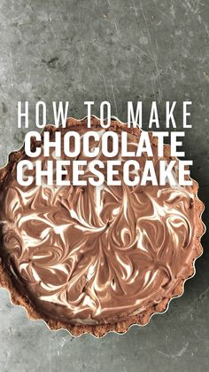 Cheesecake Desserts, Chocolate Cheesecake, Just Desserts, Delicious Desserts, Dessert Recipes, Yummy Food, Chocolate Pies, Easter Chocolate, Digestive Biscuits