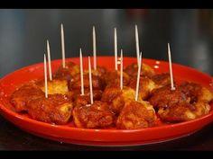J'aime beaucoup ces bouchées de poulet épicées que l'on pique à l'apéro entre amis... et vous, quelles sont vos recettes à partager préférées? Avec http://ww...