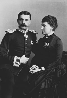 PRINCE HENRY OF BATTENBERG AND PRINCESS BEATRICE