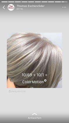 Hair Color Swatches, Bob Haircut For Fine Hair, Hair Color Formulas, Medium Layered Hair, Hair Color Techniques, Ash Blonde Hair, Hair Painting, Hair Dos, Dyed Hair