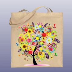 Crazy flower bag!