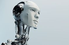 AI Robot-Cyborg-Face-Neck-Future-Computer tells human creators it will keep them in a people zoo Mein Portfolio, Ai Artificial Intelligence, Ai Robot, Alphabet A, Religion, Ex Machina, 3d Prints, Machine Learning, Helsinki