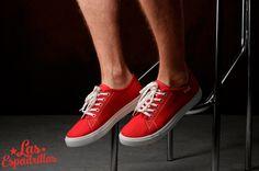 Стильные красные кеды Las Espadrillas classic что прекрасно подойдут для повседневных дел. В наличии есть мужские и женские размеры только на http://lasespadrillas.com всего за  499грн. #buy #shoes #footwear #style #woman #sneakers #keds #converse #Обувь #стиль #journal #vans #look #like #madeinukraine #hypebeast #sneakerfreaker #sneakernews #goodlook #кеды #стиль #бренд #обувь #магазин