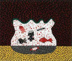 View GOLDFISH BOWL by Yayoi Kusama on artnet. Browse upcoming and past auction lots by Yayoi Kusama. Conceptual Art, Surreal Art, Goldfish Bowl, Takashi Murakami, Yayoi Kusama, Naive Art, Japanese Artists, Dot Painting, Abstract Expressionism