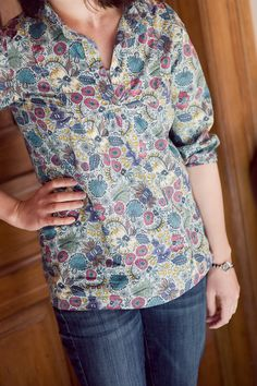 Wiksten Tova Top pattern. This shirt looks good on everyone! I need to make some of these. They're so easy to customize.