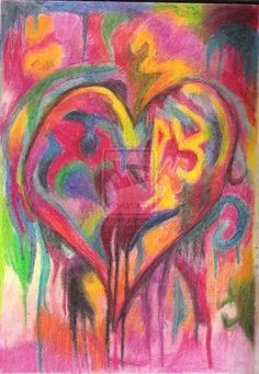 jim dine | Jim Dine - Heart by ~Black-Ink-Heart on deviantART