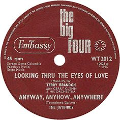 The Big Four (Looking Thru The Eyes Of Love / Anyway, Anyhow, Anywhere) - Terry Brandon / The Jaybirds (WT2012) Jun '65